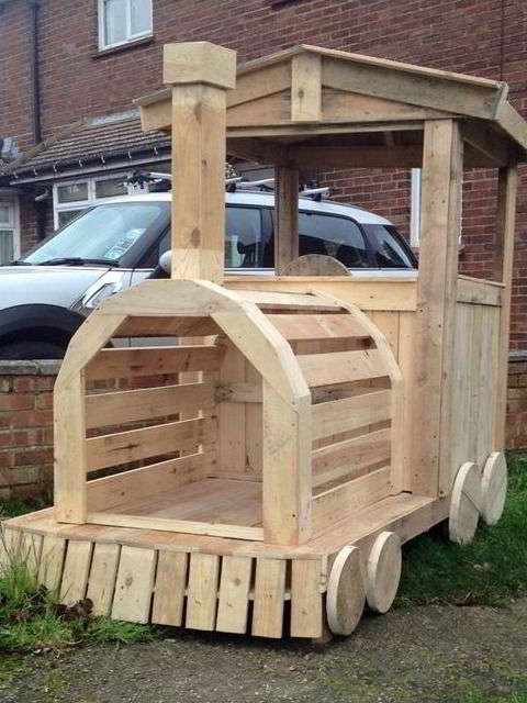 Мебель из деревянных поддонов своими руками для детей