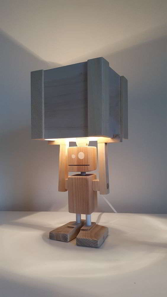 Оригинальная настольная лампа для дома и для офиса