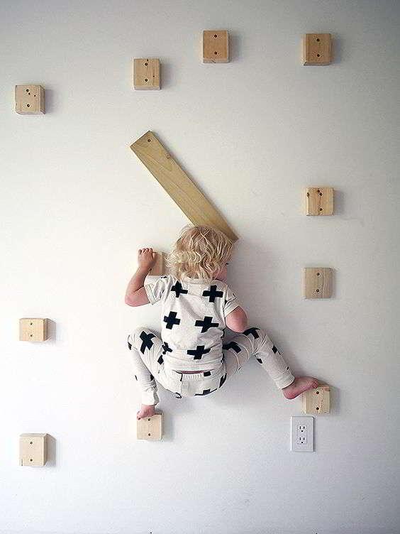 Домашний детский скалодром своими руками