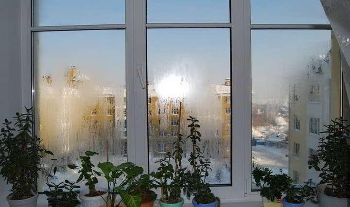 Почему потеют пластиковые окна. конденсат окна домашний сове.